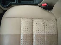 leather cleaning exle image 3 this ivory colour car seat