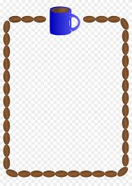 coffee beans border clipart. Simple Coffee Coffee Bean Clip Art Borders  Border To Beans Clipart E