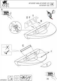 Настенный <b>светильник Arte Lamp</b> Interior <b>A7107AP</b>-<b>1AB</b> - купить ...