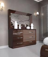 Modern Walnut Bedroom Furniture Carmen Walnut Modern Italian Bedroom Set N Star Modern Furniture