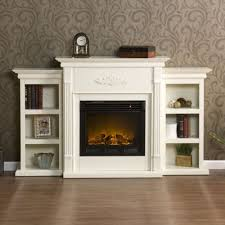 living room with electric fireplace and tv. Living Room: Minimalist Real Flame Fresno 72 In Media Console Electric Fireplace White Of From Room With And Tv