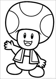 Super Mario Bros Coloring Pages Printables Super Bros Coloring Pages