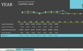 Profit And Loss Chart Template Exceltemplate