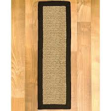 sisal stair treads handcrafted black sisal carpet stair treads set of sisal stair treads australia