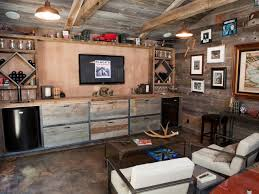 Delighted Rustic Basement Ideas Marvelous Furniture New Home Design