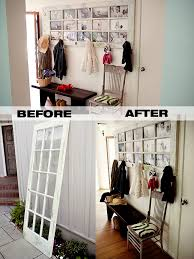Behind The Door Coat Rack Old French Door Repurposed As DIY Coat Rack DIY For Life 33