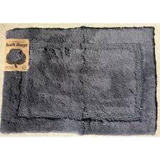 asheville 34 in x 21 in 100 organic cotton bath rug