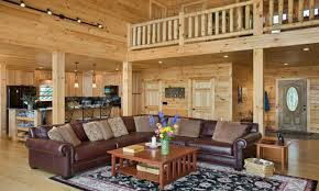 Log Cabin Living Room Decor Bookcase Wallpaper Mural Log Cabin Living Room Ideas Beautiful