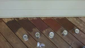 Behr Exterior Stain Samples
