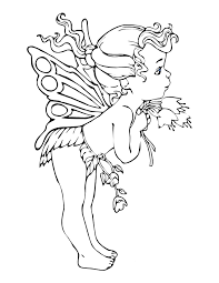 Ocean Fairy Coloring Pages Fairies Coloring