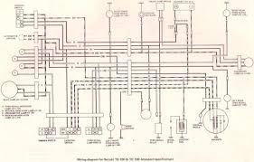 original suzuki ts tc tm forum bull suzuki ts tc wiring suzuki ts100 tc100 wiring diagram standard specification