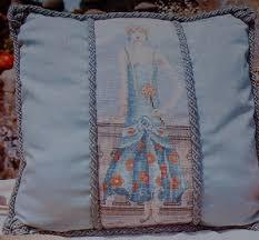 Art Deco Cross Stitch Charts 1920s Art Deco Lady Cushion Cross Stitch Chart