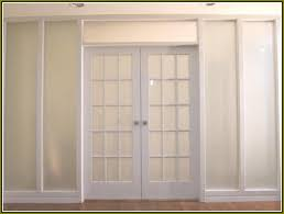 French Closet Doors With Frosted Glass Home Design Ideas