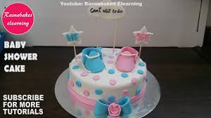 Baby Shower Cakes Design Ideas Pink Or Blue For Boy Or Girl 3d