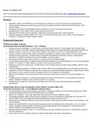 Entry Level Network Engineer Resume - Template
