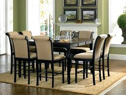 round dining table for 8 seater dimensions glass top set chairs rej