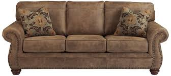 ashley furniture singature design is a contemporary leather sofa its stylish design is going to