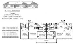 Story Duplex House Plans        Home Plan Design     Story  Bedroom  Bathroom  Family Room  Dining Area