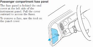 2005 ford explorer sport trac fuse diagram questions need diagram for fuse panel