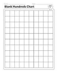 Blank Hundreds Chart Blank Hundreds Chart Worksheet Education Com