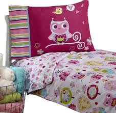 owls toddler bedding set hoot hoot bed