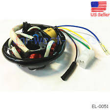 gy6 stator parts accessories 6 coil ignition stator magneto fits gy6 50 110 150cc scooter moped atv go kart
