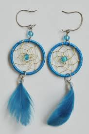 How To Make A Simple Dream Catcher How to make dreamcatcher earrings DIY is FUN 85