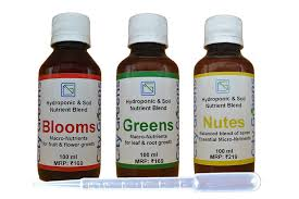 City Greens Hydroponics Nutrients Symphony 300ml Blooms Greens Nutes Complete Nutrition For Different Stages Of Plants Life Hydroponics