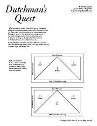 Dutchman's Quest Foundations | Archives | Quiltmaker - The ... & Dutchman's Quest Foundations | Archives | Quiltmaker Adamdwight.com