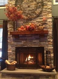 Airstone fireplace. This project used two cartons of Spring Creek and one  carton of Autumn. Stone Fireplace DecorAirstone ...