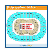 Bjcc Orchestra Seating Chart Legacy Arena At The Bjcc Birmingham Event Venue