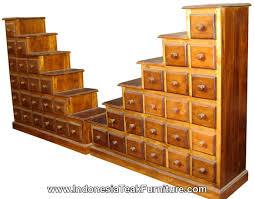 Step Drawers Cabinets Furniture Bali Indonesia