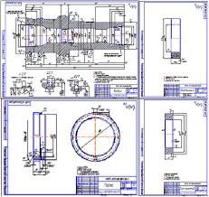Подвеска НКТ детали Чертеж Оборудование для добычи  Подвеска НКТ 73 50 215 35 детали Чертеж Оборудование