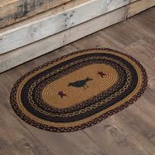 vhc collections heritage farms selections farmhouse area rugs by black bear quilts