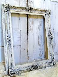 large ornate frame huge cream distressed picture by gold frames