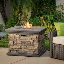 fantastic propane outdoor fireplace for crawford outdoor square liquid propane fire pit with