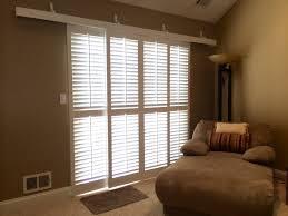 Glass Door plantation shutters for sliding glass door photos : Rolling Plantation Shutters For Sliding Glass Doors — John ...