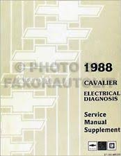 cavalier wiring diagram 1988 chevy cavalier electrical manual wiring diagram 88