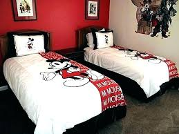 mickey mouse twin bed toddler bedroom ideas minnie bedding set