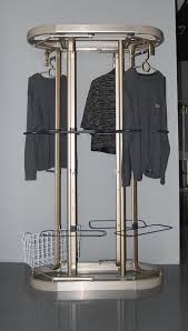Revolving Coat Rack Wardrobe Racks extraordinary rotating clothes rack Floor Standing 12