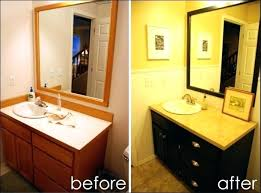 bathroom cabinet design ideas. Painted Bathroom Vanity Ideas Restore Refinishing Cabinets Neat Design Cabinet For .