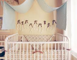 together tori and kristen created a dream nursery for their new baby the nursery was outfitted with new arrivals baby bedding wooden hanging letters