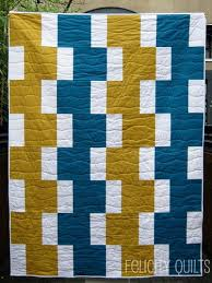 Easy Going Modern Quilt by Felicity, an original design featured ... & Easy Going Modern Quilt by Felicity, an original design featured on .  Consider for Modern Car fabric with solids, for Project Linus quilt. Adamdwight.com