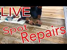 spot repairs live on wood floors by lenny hall of nwfa with ser