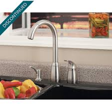 Kitchen Faucet Installation Instructions Stainless Steel Contempra 1 Handle Kitchen Faucet 526 50ss