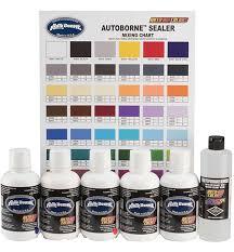 6100 16 16oz Autoborne Primary Set W Mixing Chart