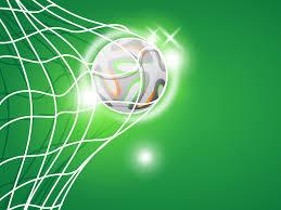 Football Powerpoint Template Football Goal Powerpoint PPT Backgrounds Green Sports Templates 14