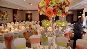 Orange And Lime Green Wedding Theme