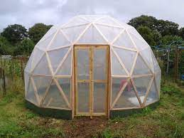 greenhouse would be a geodesic dome