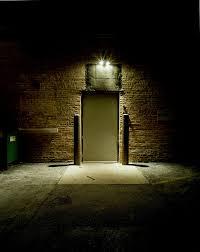 Dark Alley Door